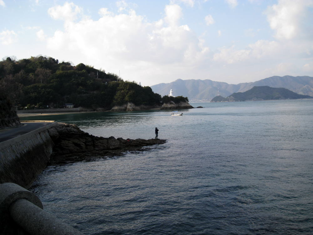 A bottom of Ohashi, Innoshima