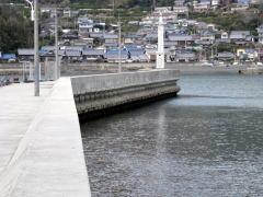 石田造船の波止