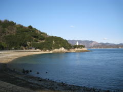 大浜記念公園砂浜