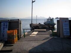 大浜港の桟橋